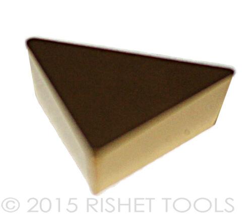 RISHET TOOLS TPG 222 C5 Multi Layer TiN Coated Carbide Inserts 10 PCS