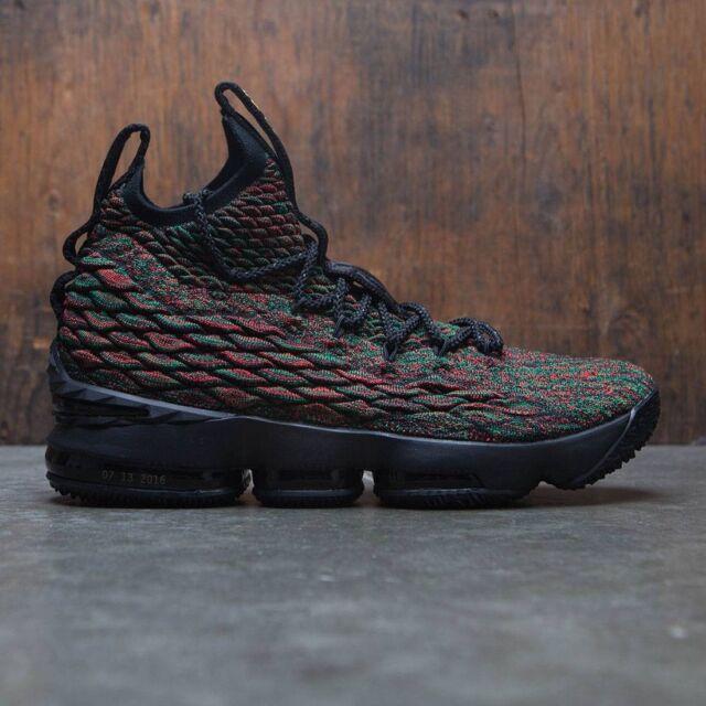 huge discount d2f77 bf19c Nike Lebron XV 15 BHM Limited Multi Color-black Sz 11 RARE 897650-900