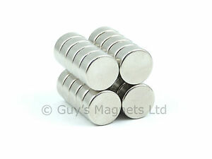 Strong powerful round n52 10mm dia x4mm neodymium disk for Small round magnets crafts