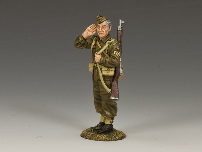 KING AND COUNTRY Home Guard The Sergeant  WW2 FOB83 FOB083