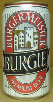 Burgie Burgermeister Beer 12oz Can With Brewery Heileman La Crosse Wisconsin Ebay