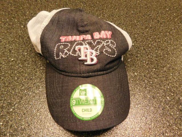 official photos 4eb80 23736 MLB Era 9twenty Tampa Bay Rays Kids   Child Strapback Hat Cap R5b3   eBay