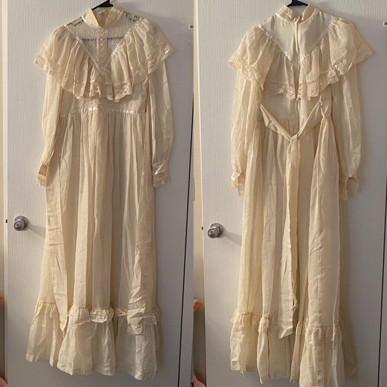 gunne sax dress vintage Size 11 - image 1