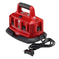 Milwaukee M18 18v Six Port Li-ion Charger 48-59-1806 on sale