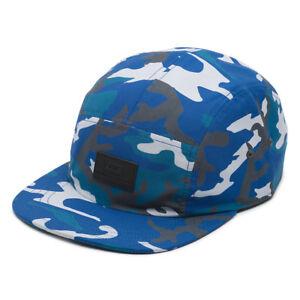 016ae8e5ae Vans DAVIS - 5 Panel Camper Mens Hat (NEW) Ice Camo STRAPBACK CAP ...
