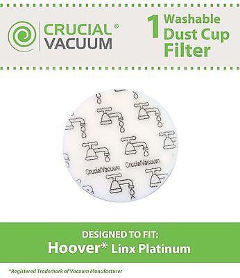 Repl Hoover Linx Vac Filter Part 902185003 562161003