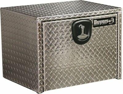 Buyers Products 1725153 Black 14 x 12 x 30 Powder Coated Aluminum Underbody Truck Box