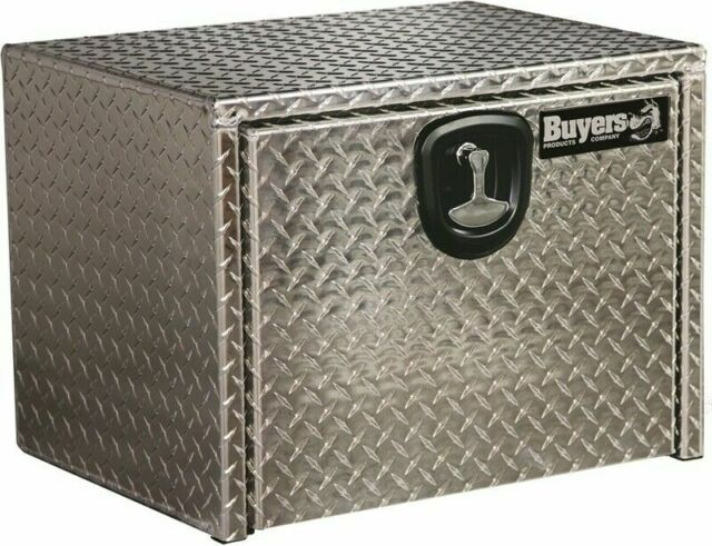 20x18x36 Inch Buyers Products Diamond Tread Aluminum Underbody Truck Box w//Drawer