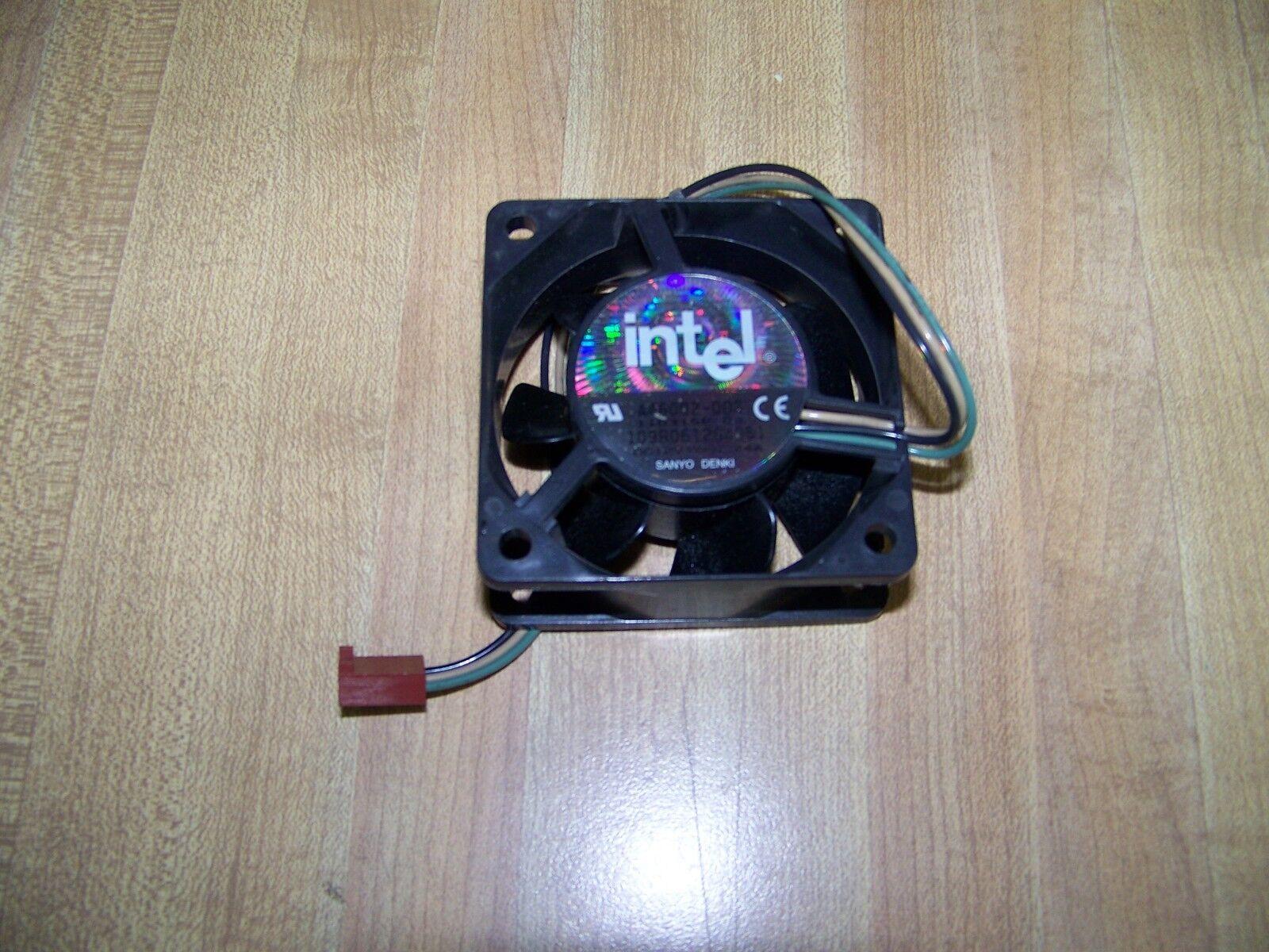 (Lot of 2) Intel A46002-003 Cooling Fans DC12V O.24A Sanyo Denki