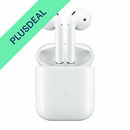 Apple AirPods 2. Generation mit kabelgebundenen Ladecase, Bluetooth, MV7N2ZM/A
