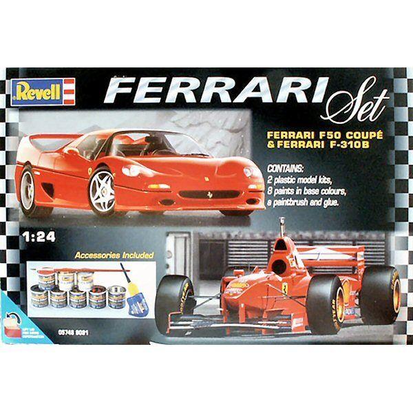 Revell 05748 Ferrari F50 Coupe & Ferrari F-310B Set 1 24 scale plastic model kit