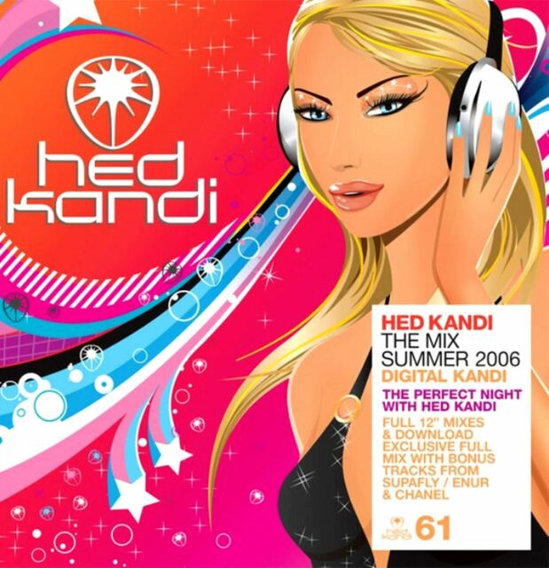 THE MIX SUMMER 2006 various (3X CD, compilation, mixed) hed kandi, house