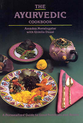 1 of 1 - The Ayurvedic Cook Book By Amadea Morningstar Paperback
