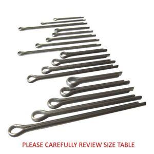 split pins split cotter pins stainless steel a4 marine grade 316
