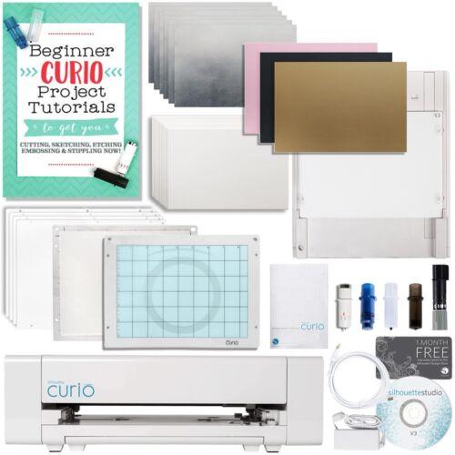 Silhouette Curio Digital Crafting Machine Deep Cut /& Etch Bundle
