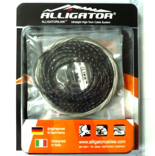 gobike88 Alligator NEW mini iLINK 4mm Shift Cable Set Black ABY