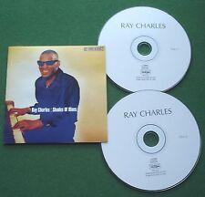 Ray Charles Shades of Blues inc Ain't That Fine & A Sentimental Blues + CD x 2