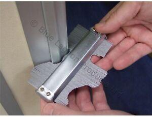 Pro-5-034-125mm-Metal-Contour-Gauge-Tiling-Skirting-Laminate-Profile-Wood-Shape