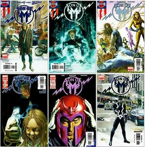History of the Marvel Universe #1-6 Cover A 1 2 3 4 5 6 Complete Set Lot Series