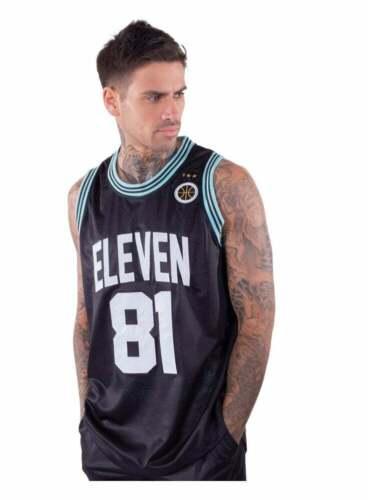 11 Degrees Basketball Vest Black