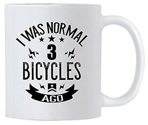 Funny Cycling Gifts. 11 oz Ceramic