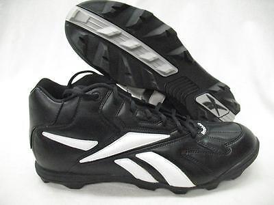 Reebok 96336 NFL 2 Low Top ST Football Baseball Lacrosse Cleats Shoes Black Mens