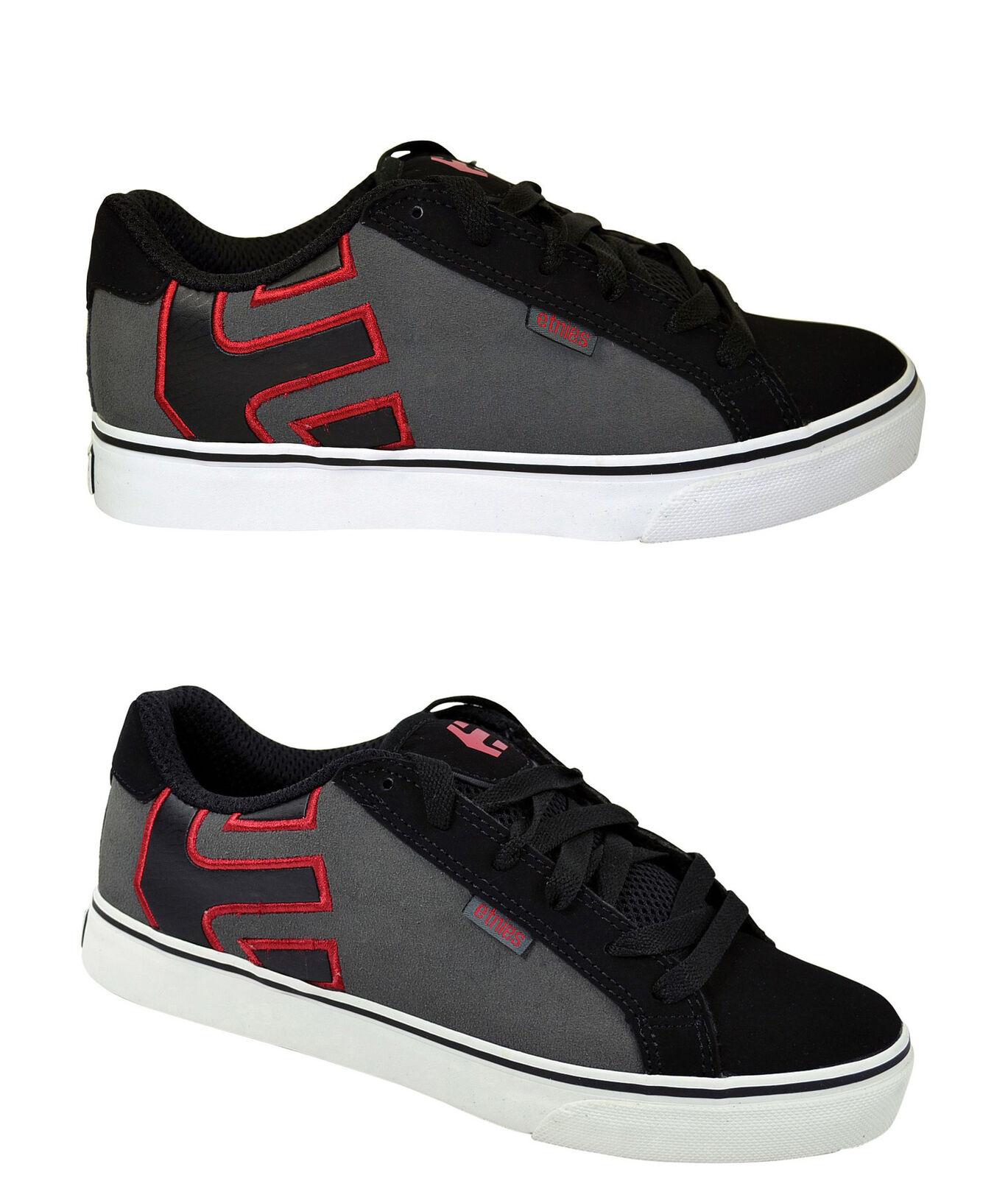 Etnies Fader Vulc black/grey/red Größenauswahl! Schuhe/Sneaker Größenauswahl! black/grey/red schwarz 1cf5de
