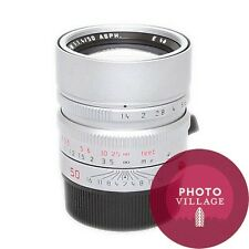 Leica M 50mm f/1.4 Summilux ASPH Film Digital Rangefinder Lens -- USED