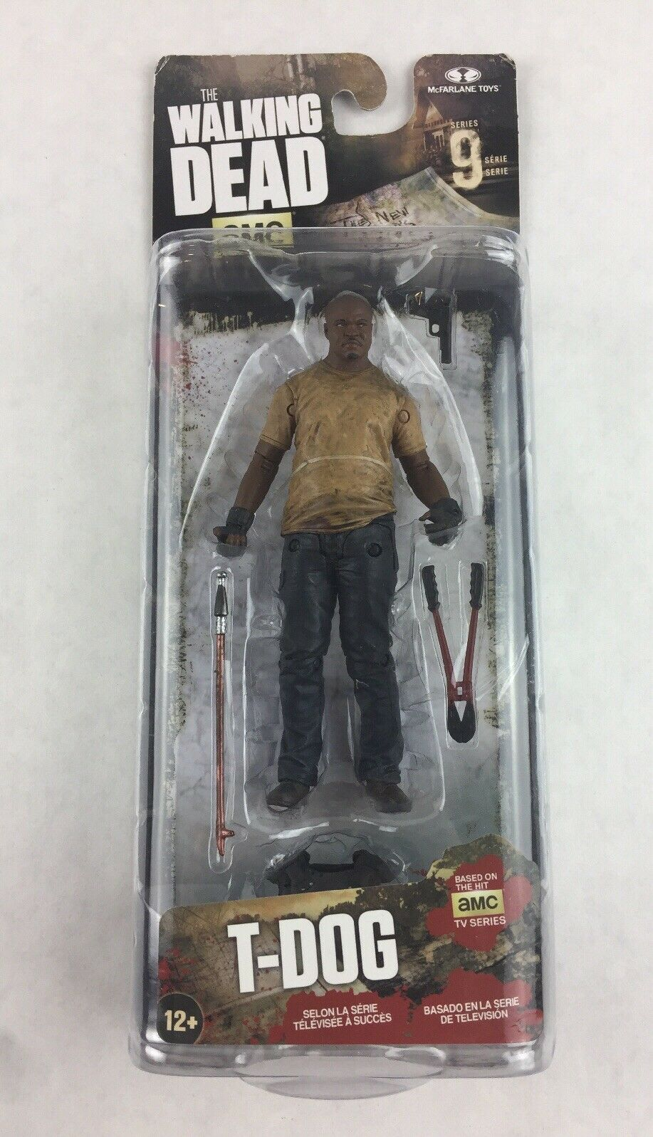 McFarlane Toys The Walking Dead TV Series 9 T-Dog Collectible Action Figure