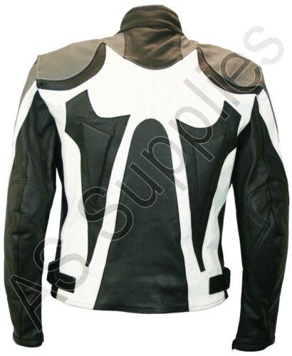 "/""MORPHEUS/"" New Gothic Leather Biker Motorcycle Jacket All sizes!"