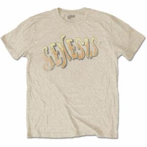 Genesis-Vintage-Logo-Official-Merchandise-T-Shirt-M-L-XL-Neu