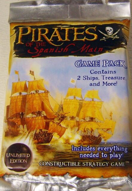 Wizkids Pirates of the Spanish Main Booster Pack Unlimited Edition