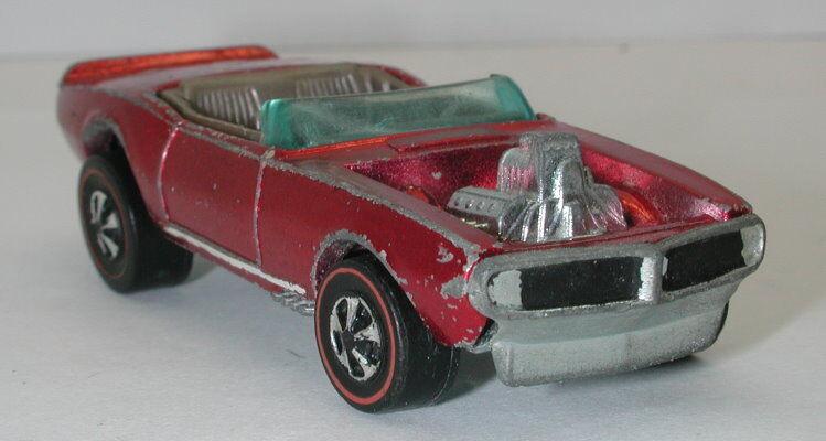 Redline Hotwheels Red 1970 Light My Firebird oc10330