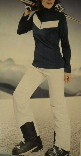 Damen Skihose Snowboardhose Skiwear für Piste Weiß Schneehose Neu Gr M L