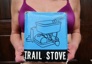 Never Used! Vtg Backpacking Gas Trail Stove Made in Taiwan W/Box, Not a 0ptumas.