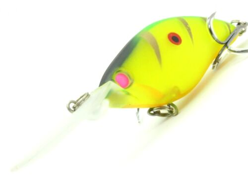 4 1//3 inch 2//3 oz Minnow Crankbait Tight Wobble Deep Diver Fishing Lures C739