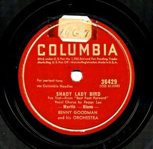 BENNY-GOODMAN-and-his-Orchestra-on-1941-Columbia-36429-Shady-Lady-Bird