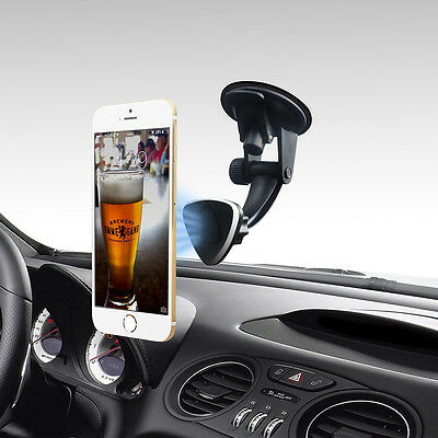 360° Car Holder Windshield Suction Magnetic Mount Bracket Stand for Cell Phone