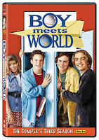 Boy Meets World - The Complete Third Season Dvd 2010, 3-disc Set