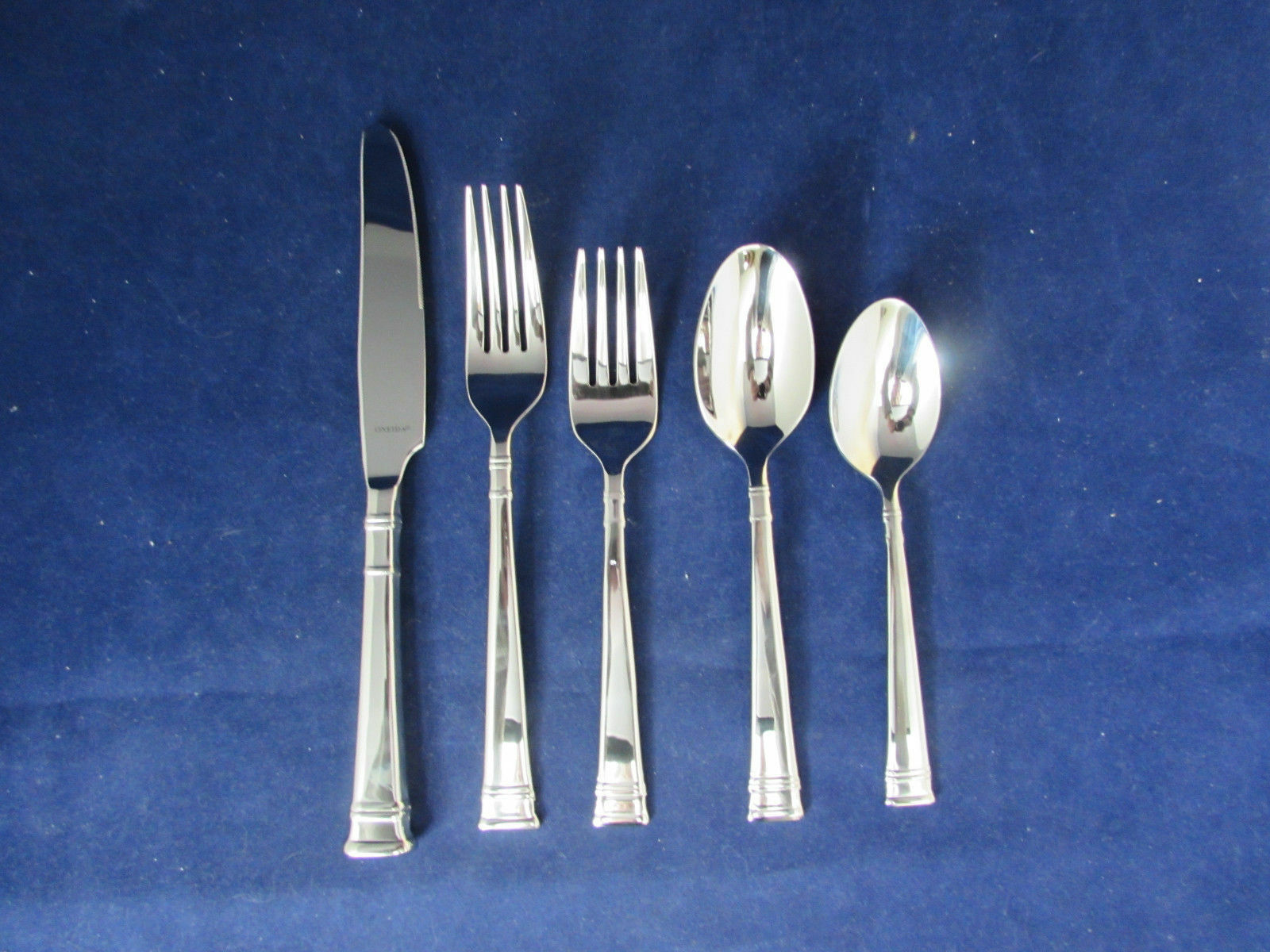 flatware silverware kitchen tableware collectibles oneida stainless prose 5pc place setting s new