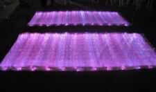 RGB LED Light up Fiber Optic Fabric 100*140cm to Make Clothing (two batteries)