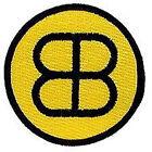 "Buckaroo Banzai Patch- BB Black & Gold Logo 3"" Embroidered Patch (BZPA-07)"