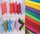 100%Cotton Pillow Cushion Cover Case Square 65x65cm European Pillowcases