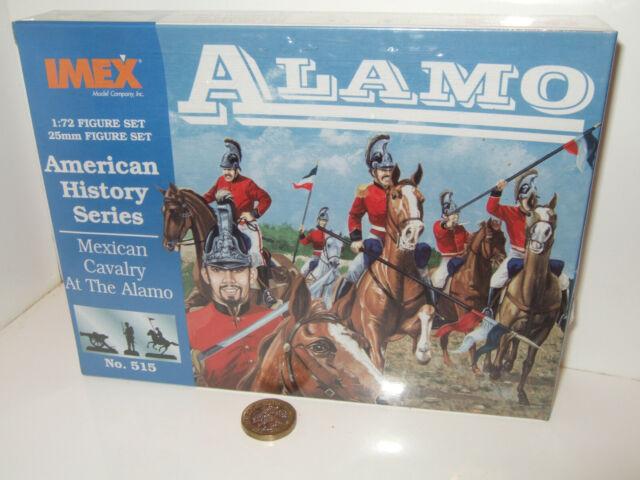 IMEX 515 Serie Historia Americana, caballería mexicana en El Álamo en escala 1:72