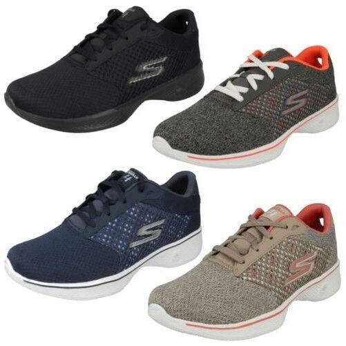 Zapatos promocionales para hombres y mujeres Mujer Skechers Zapatillas Deportivas - Go Walk 4 EXCEED 14146