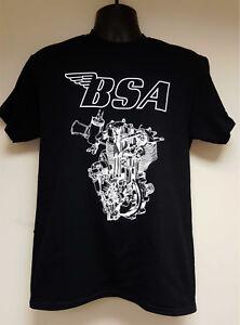 ufficiale Design Engine 4xl uomo S moto autorizzata shirt T bsa da E4w8pqZZx0