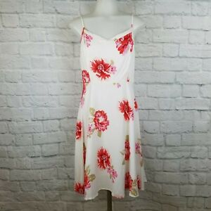 Old-Navy-Women-039-s-Small-Dress-Floral-White-Pink