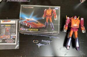 Transformers Masterpiece Hot Rod Rodimus MP-28 Damaged Complete