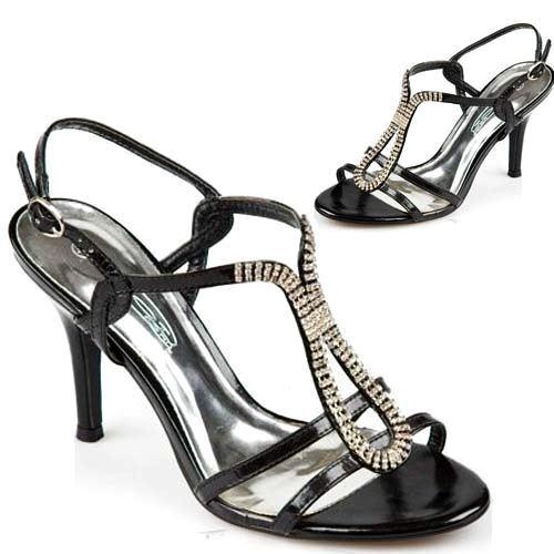 Femmes talon haut sandales nouveau talons aiguilles demoiselle d/'honneur fête soirée chaussures taille