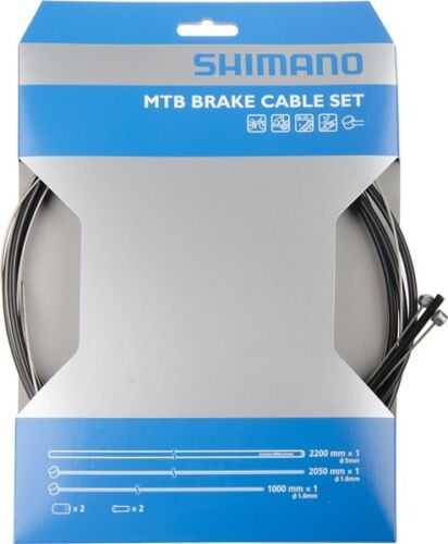 SHIMANO Bremskabel-Set Niro//Edelstahl für MTB Y80098021